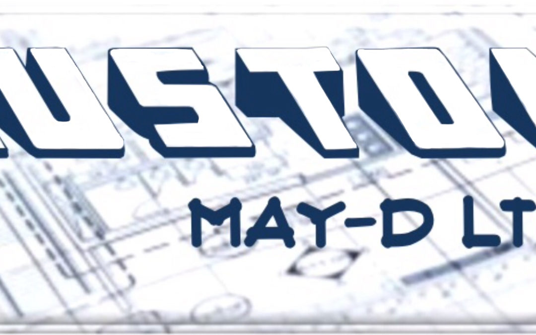 A New Website for Custom MAY-D!