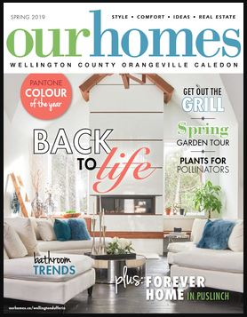 Custom MAY-D Featured on Cover of Our Homes Magazine!